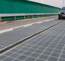 China constrói rodovia de painéis fotovoltaicos