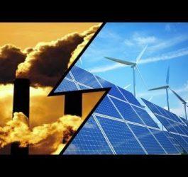 Energias fotovoltaica e eólica substituirão carvão e gás
