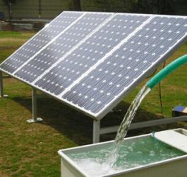 Energia solar é uma ótima alternativa para bombeamento de água