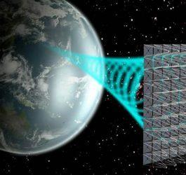 Painel fotovoltaico no espaço vai gerar energia para transmissão até a Terra